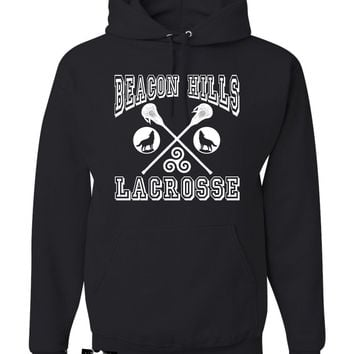 Adult Beacon Hills Lacrosse Sweatshirt Hoodie