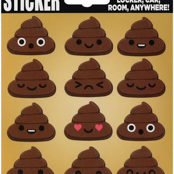 Poopies Sticker Pack