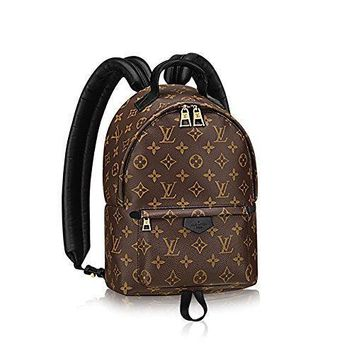 Authentic Louis Vuitton Monogram Canvas Palm Springs Backpack Pm Handbag Article: M41560