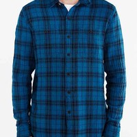 Koto Uka Overdyed Plaid Button-Down Shirt