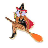 Pin-Up Witch Pin
