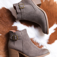 Philly Ankle Boot, Grey