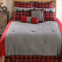 Larissa Plaid Comforter Set