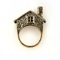 My House Ring - Cute Rings at Pinkice.com