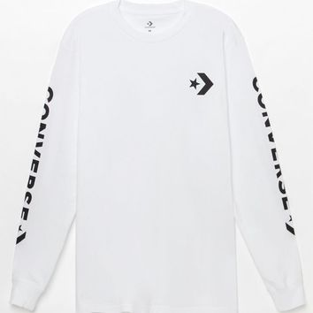 Converse Star Chevron Long Sleeve T-Shirt at PacSun.com