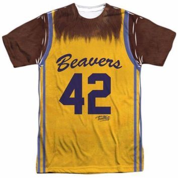 Teen Wolf Movie Jersey Costume Officially Licensed Sublimation Adult Shirt