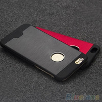 men's women's fashion Luxury Metal Aluminum Hard Skin Case Cover For Apple iPhone 4 4s 5 5s 6 6plus [8424241159]