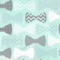 Blue Beau Tie Backdrop Photo Background / 7500