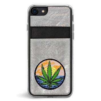 Baked Wallet Embroidered iPhone 7/8 Case