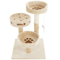 PETMAKER 3-Tier Cat Tree - Free Shipping Today - Overstock.com - 20995621 - Mobile