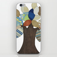 Silver Tree iPhone & iPod Skin by Erin Brie Art