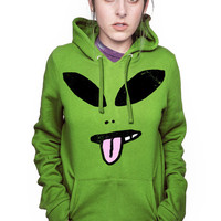 HUGE ALIEN PULLOVER SWEATSHIRT
