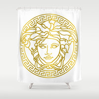 Versace Shower Curtain by Goldflakes