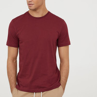 Crew-neck T-shirt Regular fit - from H&M