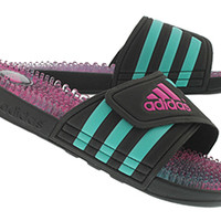Adidas | Women's ADISSAGE black/multi slide sandals M29538