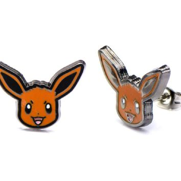 Pokémon Eevee Stud Earrings