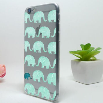 Original Cute Elepahant iPhone 5c 5se 5s 6 6s Plus Case Cover + Free Gift Box