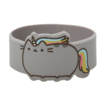 Pusheen Unicorn Die-Cut Rubber Bracelet
