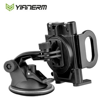 Yianerm Universal 360 One Touch Sucker Phone Holder Stand Dashbosrd Windshield Car Phone Holder Candle For iPhone,Samsung,LG