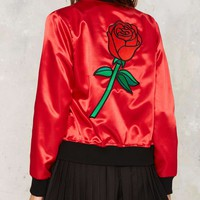 Big Bud Press Highs and Rose Bomber Jacket