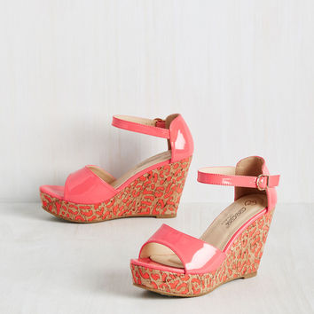 Glossed in Translation Wedge | Mod Retro Vintage Heels | ModCloth.com