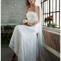 Buy Allover beaded lace gown with empire waist Style S8551  , from  for $136.48 only in Fashionwithme.com.