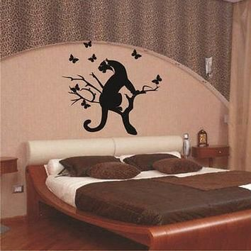 Puma Sticker Stylish Zoo Animals Decor Wall Decal Art Vinyl Sticker tr638