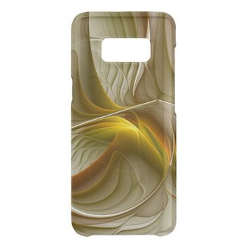 Colors of Precious Metals, Abstract Fractal Art Uncommon Samsung Galaxy S8 Case