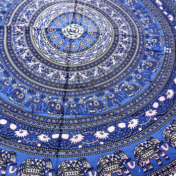 Elephant Tapestry, Hippie Tapestries, Mandala Tapestries, Tapestry Wall Hanging, Bohemian Tapestries, Wall Hanging, Indian Tapestry
