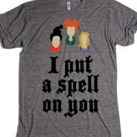 Athletic Grey T-Shirt | Cute Hocus Pocus Halloween Shirts