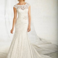 AF COUTURE BY MORI LEE 1257 Venice Lace