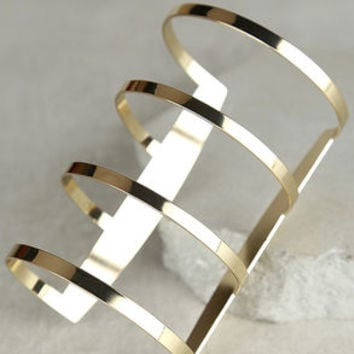 The Wonder Gold Cuff Bracelet