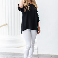 Sunny Day Top, Black
