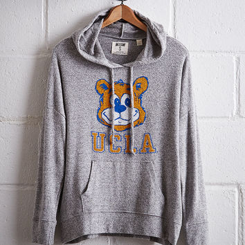Tailgate Women's UCLA Plush Hoodie, Gray Heather