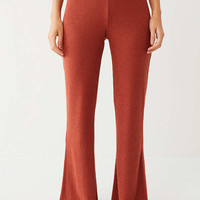 Out From Under Jordyn Ribbed Flare Pant | Urban Outfitters