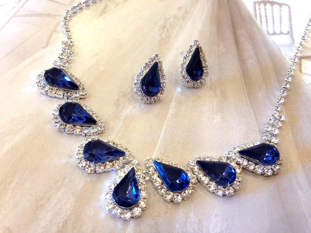 Wedding Jewelry Set ,bridesmaid Jewelry From Glam Duchess