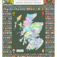 Scotland of Old: Clans Map of Scotland Collins (Collins Pictorial Maps) Map – Folded Map, September 1, 2012