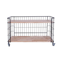 Warehouse Chic 2-Tier Shelf