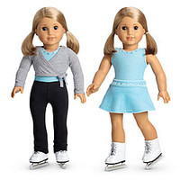 American Girl® Dolls: 2-in-1 Ice Skating Set + Charm