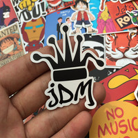 1Pcs Car Styling jdm bicycle stickers for car sticker decal stickers fridge motocycle Accessories laptop sticker car-styling