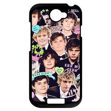 Evan Peters Collage 1 HTC One S Case