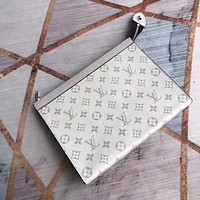 LV Louis Vuitton Monogram Giant Micro Pochette Accessories lattice zippy wallet purse bucket coin  card make up bags pouches handbag Best quality brown black pink red blue green