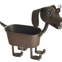 Mini Heidi the Dachshund Planter