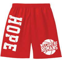 We Came As Romans Men's  Hope Gym Shorts Red