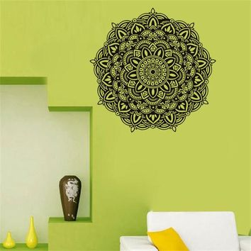 DCCKIX3 Waterproof Mandala Art Wall Sticker [9357009348]