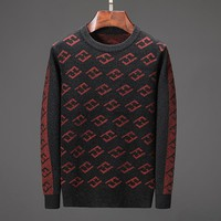 Boys & Men FENDI Fashion Casual Top Sweater Pullover Knitwear