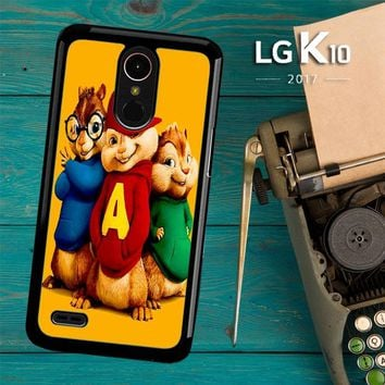 Alvin And The Chipmunks Character V 2074 LG K10 2017 / LG K20 Plus / LG Harmony Case