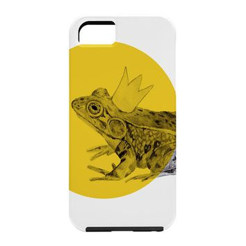 Morgan Kendall Gold Frog Prince Cell Phone Case