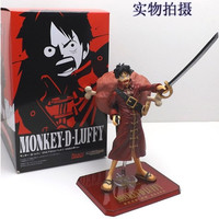 POP One Piece DX Excellent Model Monkey D Luffy In Red Dress 16cm PVC Action Figure Collection Model Toys Gifts = 1958366468