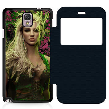 Young Britney Spears Flip Samsung Galaxy Note 3 Case